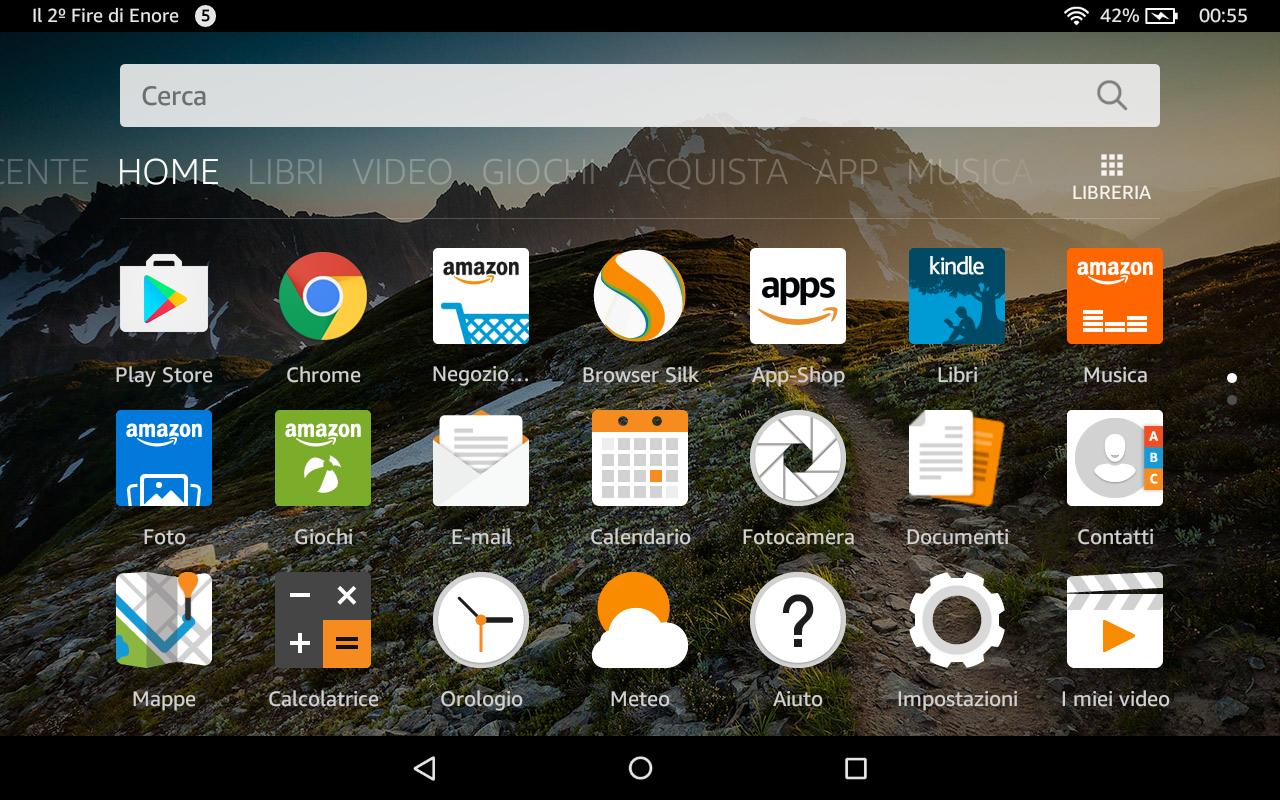 50bd2766c5f0f8 Nuovo Amazon Fire HD 8 2016: Come installare il Google Play Store
