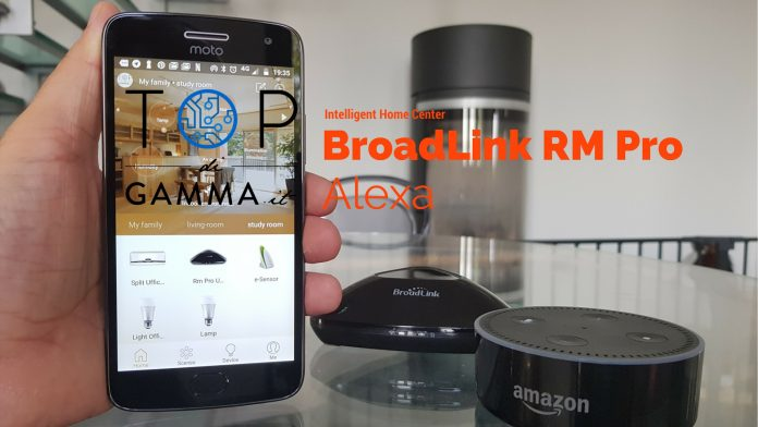 Come usare Alexa con Broadlink RM Pro ed SP3 attraverso Intelligent Home Center