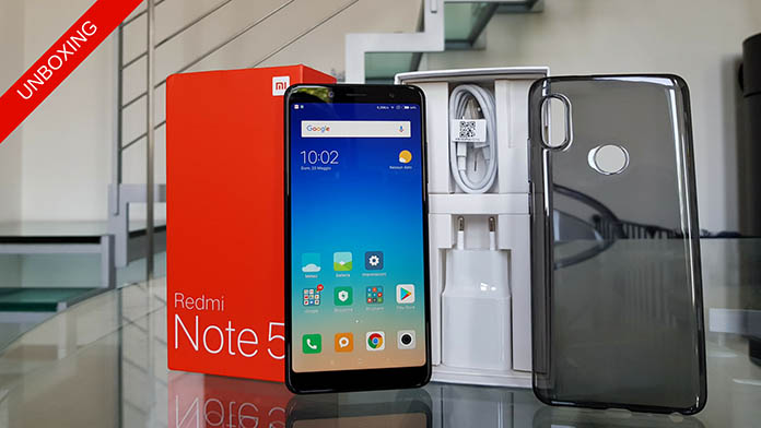 Xiaomi Redmi Note 5 Global Version Garanzia Italia Unboxing Prime Impressioni